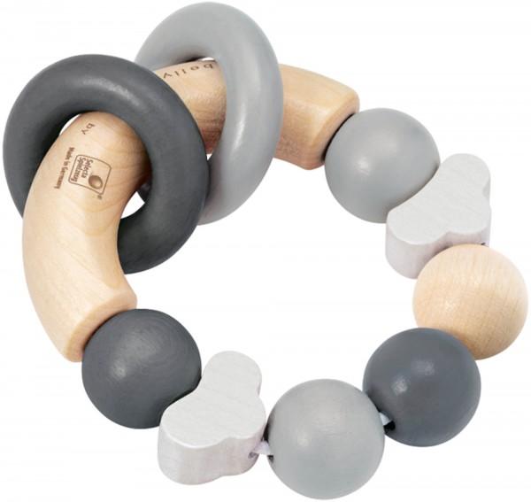 Greifling Glücksgriff in grau von Selecta, bellybutton Design