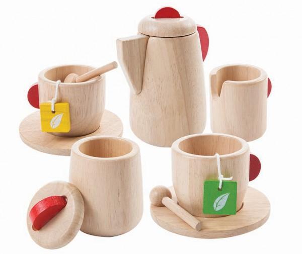 Plantoys Teeservice Kinder aus Holz