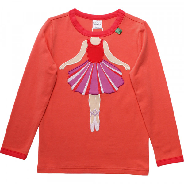 Freds World Langarmshirt Ballerina orange pink