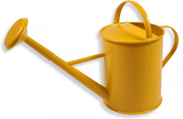 Kindergiesskanne Metall gelb Giesskanne fuer kinder Glueckskaefer