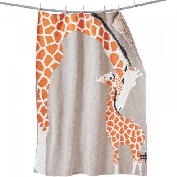 Bio Babydecke Giraffenliebe von Quschel