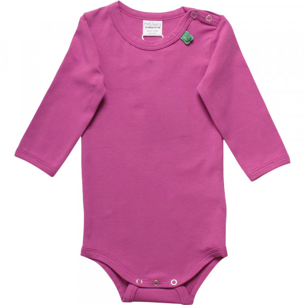 Basic Langarmbody pink freds world