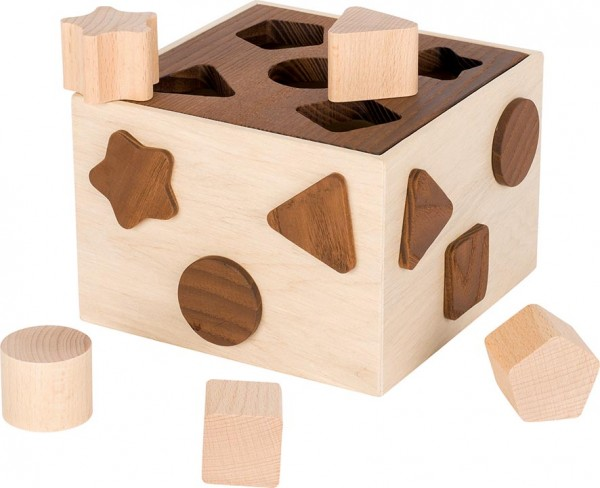 Sortierbox naturbelassenes Holz goki nature