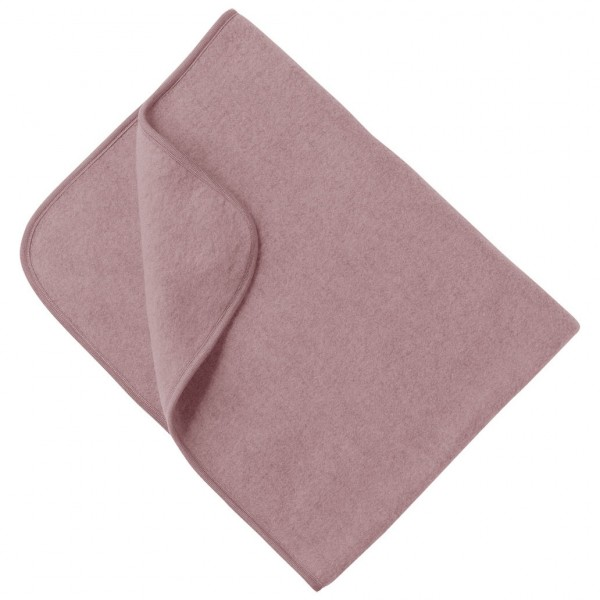 Engel Natur Bio Babydecke Merinowolle Fleece rosa
