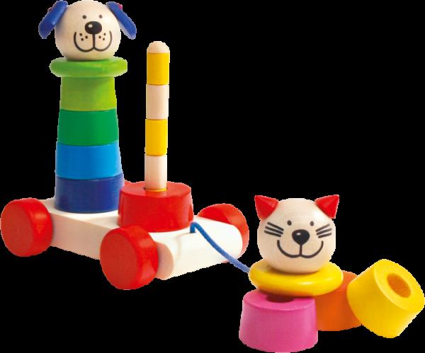 Filino Nachzieh- und Steckspielzeug von Selecta