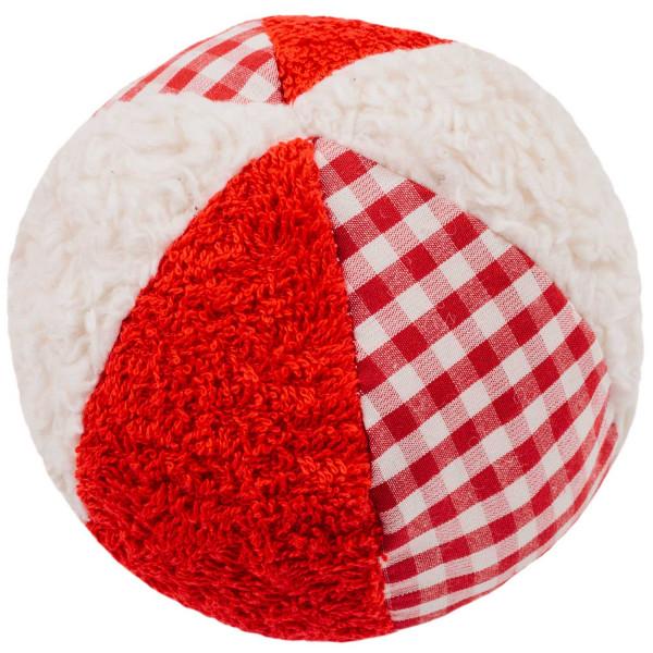 Bio Rasselball rot/weiß von Efie