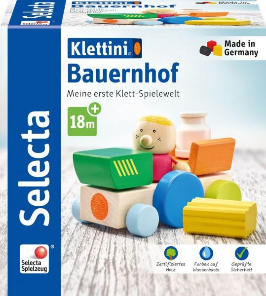 Selecta Klett-Stapelspiel Bauernhof, Klettini