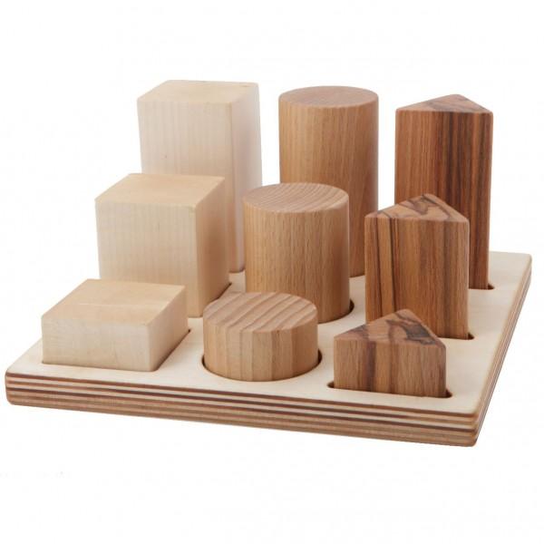 Woodenstory Formen-Legespiel natur