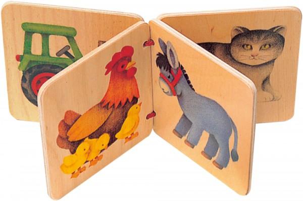 Holz Bilderbuch Farm von Selecta