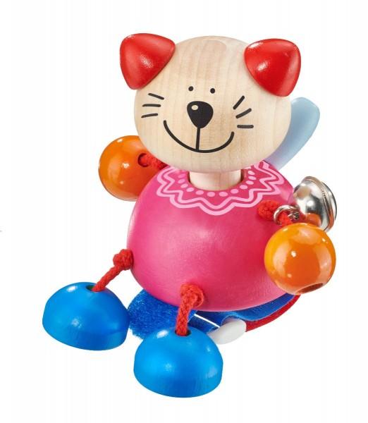 Selecta Buggyspielzeug mit Klettverschluss Kitti Katze