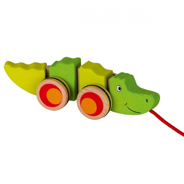 Ziehtier Krokodil Goki