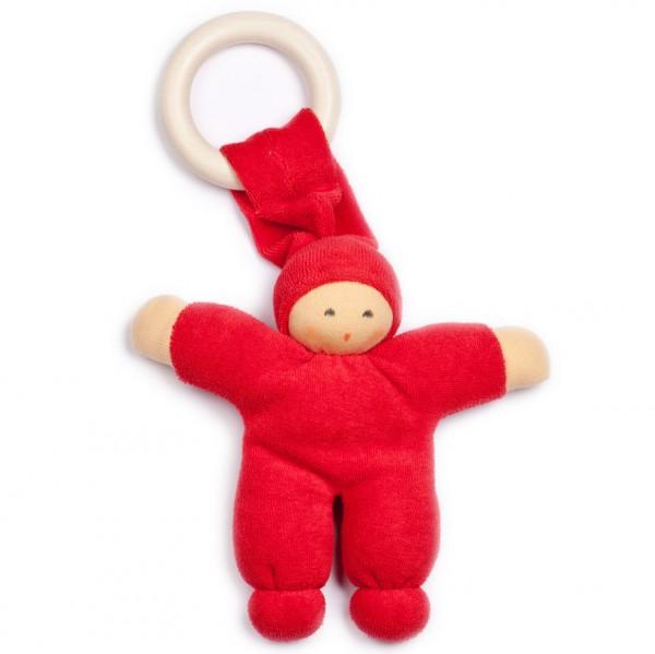 Nanchen Greifling Pimpel mit Beißring rot