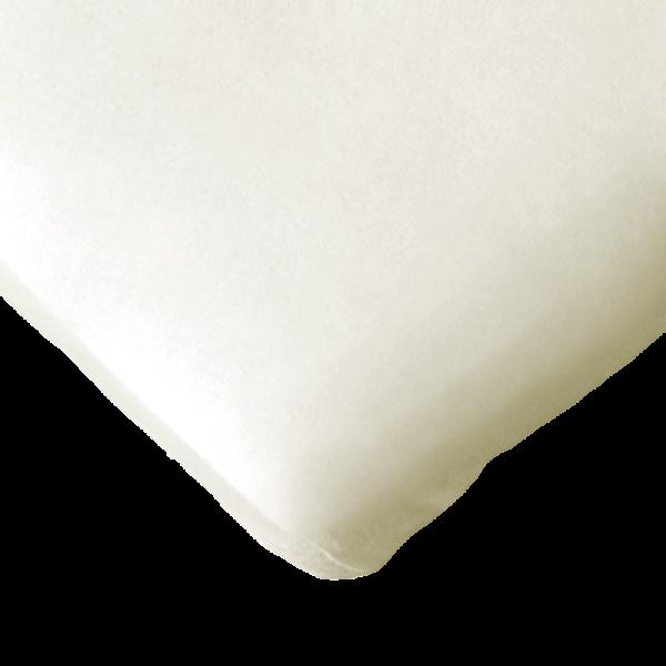 Bio Spannbettlaken in 40x90 cm ungebleicht von Quschel