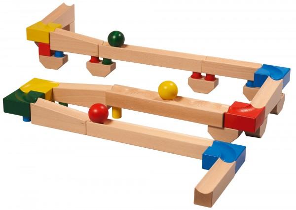 Holzkugelbahn zum selber bauen cubio Grundkasten