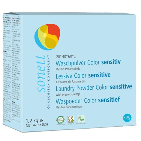 Sonett Bio Waschpulver Color sensitiv
