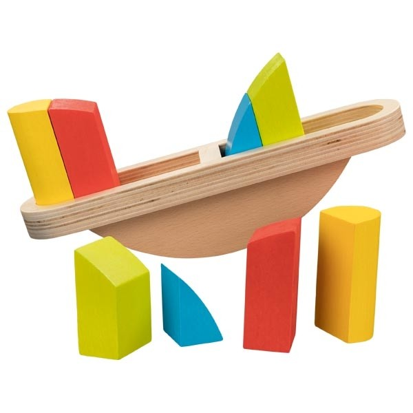 Holzspielzeug, Balancierspiel Waage, Motorikspielzeug goki
