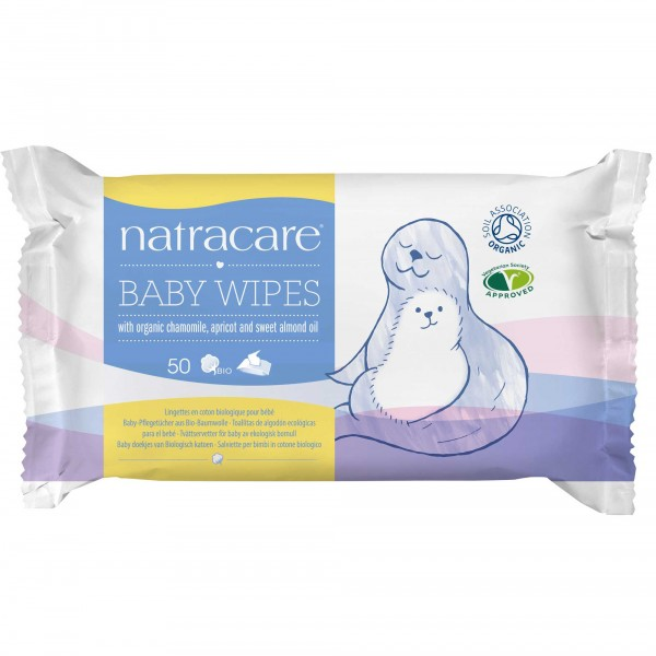 Bio Babypflegetücher natracare