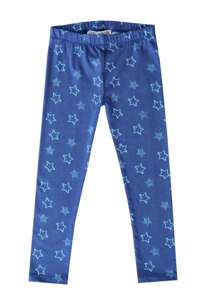 Enfant Terrible Bio Leggings Sterndruck marineblau