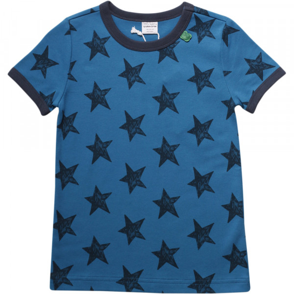 Fred's World T-Shirt Stern blau