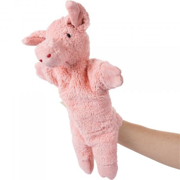 Senger Handspielpuppe Schwein Tier Handpuppen