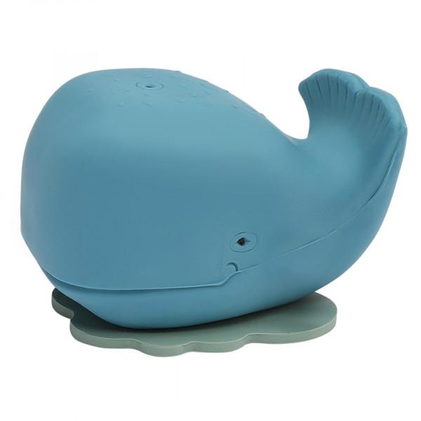 Badetier Naturkautschuk Hevea Wal blau